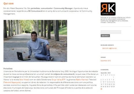 web RK comunicació