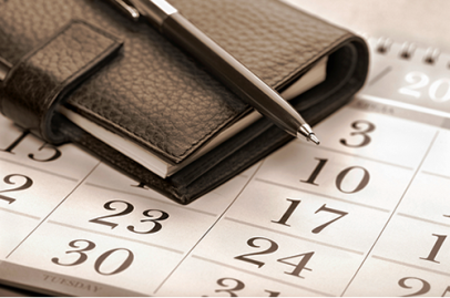 agenda y calendario